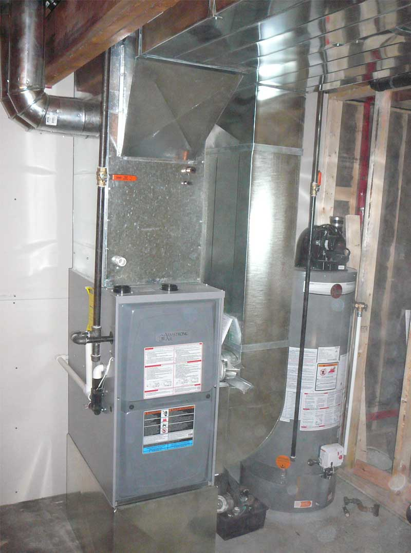 New Furnace and Duckwork Install